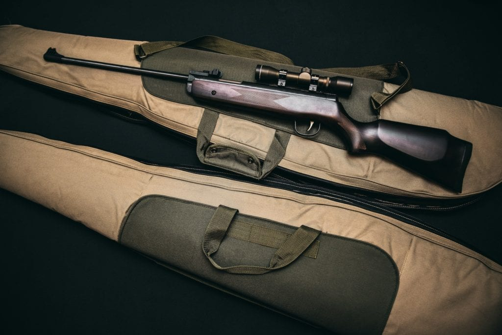 Photo of a hunting rifle